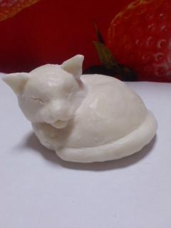 石ケンで作った猫