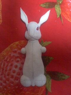 ウサギ・耳を作る