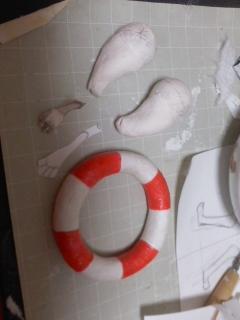 浮き輪・完成