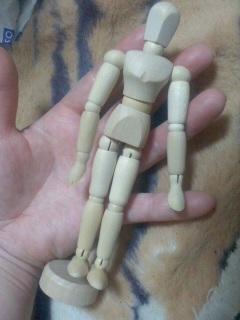 モデル人形を買いました